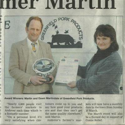 Sizzling Success for Pig Farmer Martin